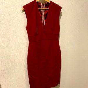 Elie Tahari - Vintage Inspired - Red Formal Dress